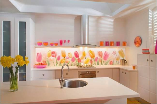Kitchen Splashback - Spring