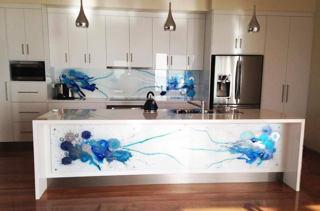 Printed Splashback - Beautiful Art