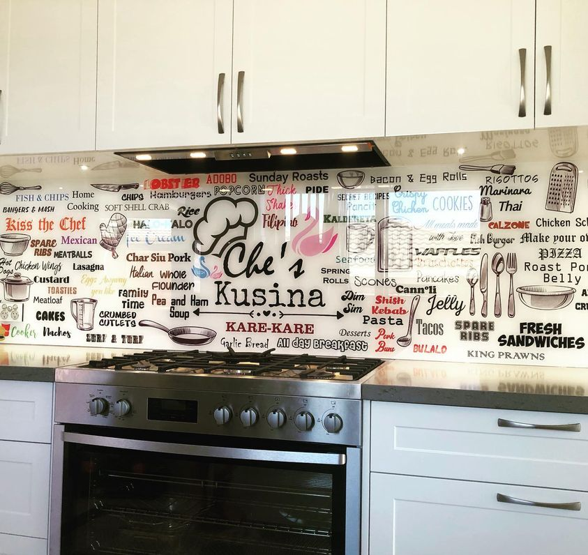 Printed Kitchen Splashbacks